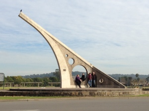 The World's biggest sundial in Singleton