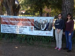 Sirius Chamber Ensemble on tour